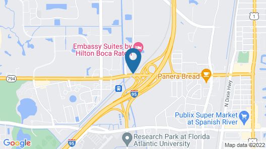 Springhill Suites By Marriott Boca Raton Map