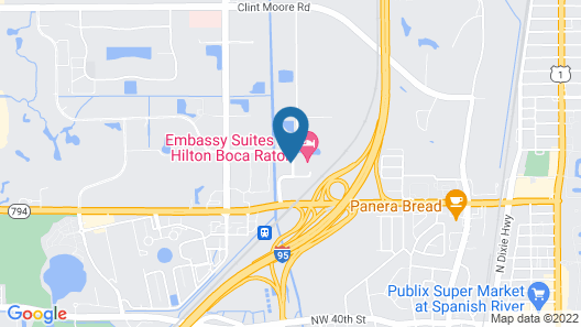 Holiday Inn Boca Raton - North, an IHG Hotel Map
