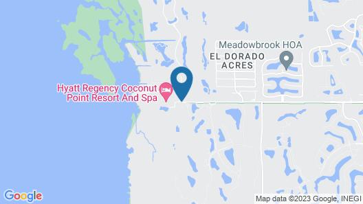Hyatt Regency Coconut Point Resort & Spa Map