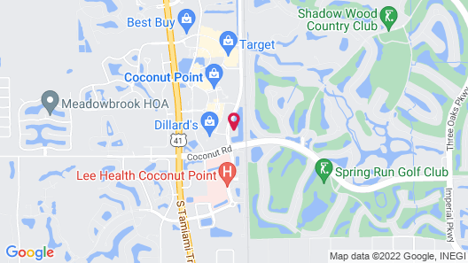 TownePlace Suites by Marriott Fort Myers Estero Map