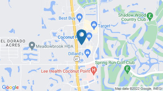 Hyatt Place Coconut Point Map