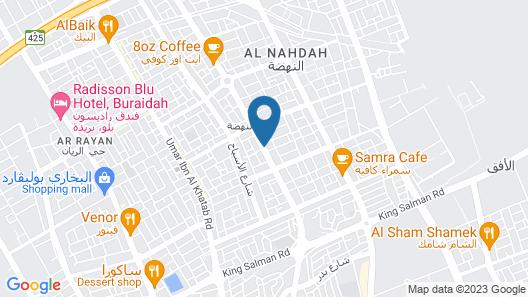 Raoum Inn Buraydah Map