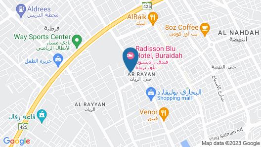 Radisson Blu Hotel, Buraidah Map
