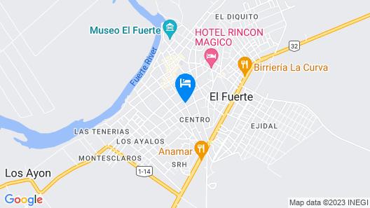 Hotel Franco By Rotamundos Map