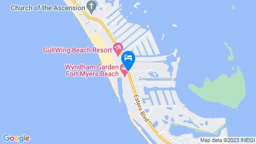 Wyndham Garden Fort Myers Beach Map