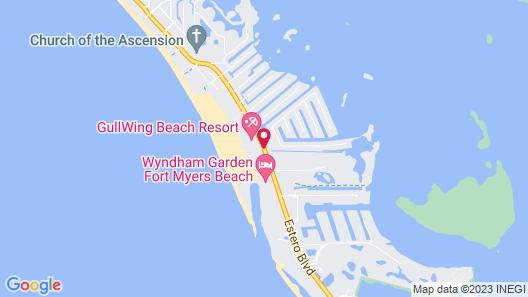 Pointe Estero Beach Resort Map
