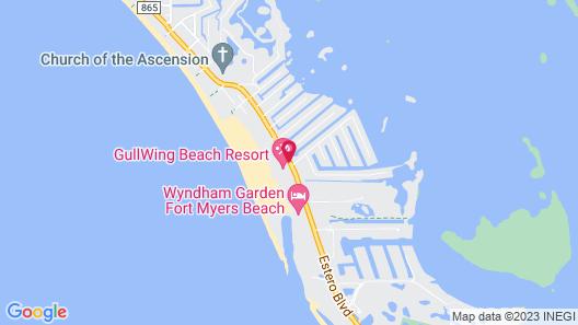 GullWing Beach Resort Map