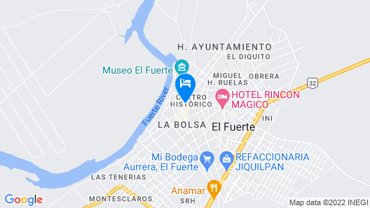 Hotel Santa Elena Map