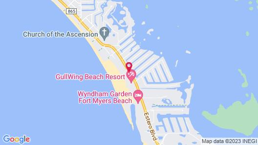 Gulfview Manor Resort Map