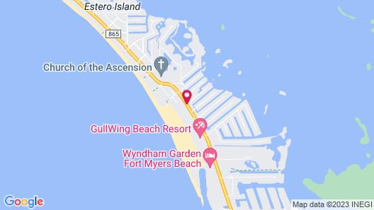 Outrigger Beach Resort Map