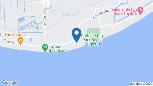 Casa Ybel Resort Map