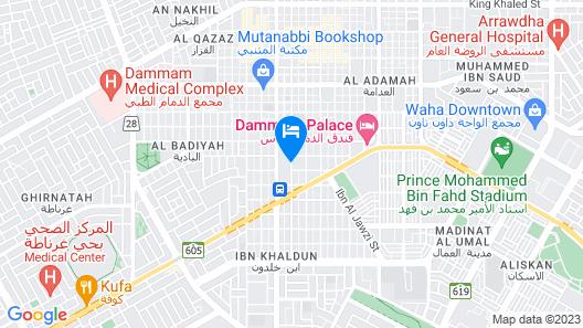 Wyndham Garden Dammam Map