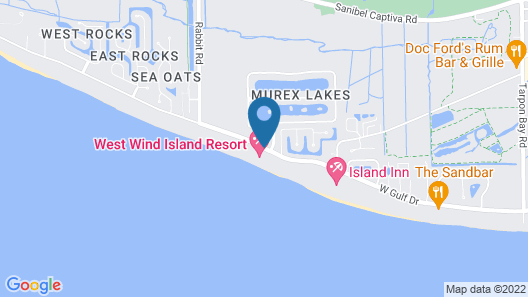West Wind Inn Map