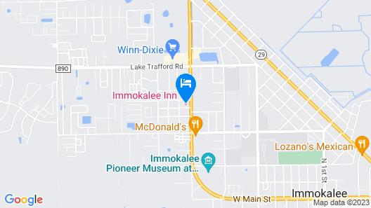Immokalee Inn Map