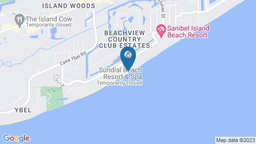 Luxury 2-bedroom Beachfront Sundial F401 on Gulf of Mexico Map