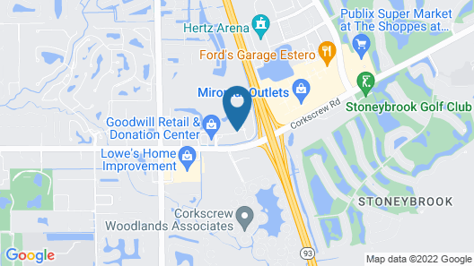 Embassy Suites by Hilton Fort Myers Estero Map