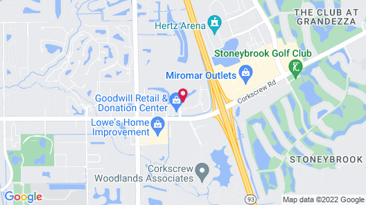 SpringHill Suites by Marriott Fort Myers Estero Map