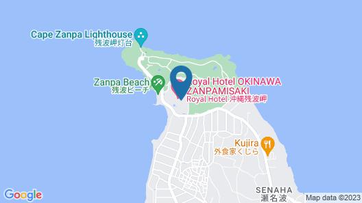 Royal Hotel OKINAWA ZANPAMISAKI Map