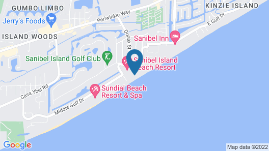 Pelicans Roost Gulf Front Condos Map