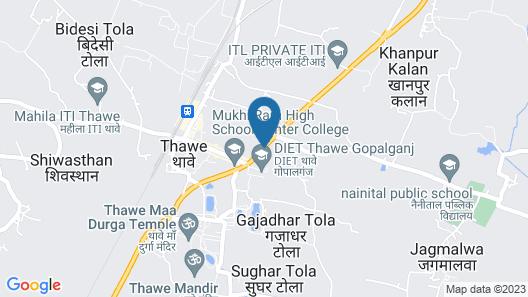 MK International Hotel Map