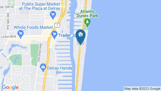 Delray Breakers on the Ocean Map
