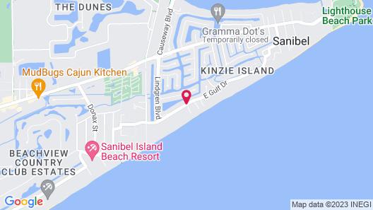 Sanibel Arms West Condominiums Map