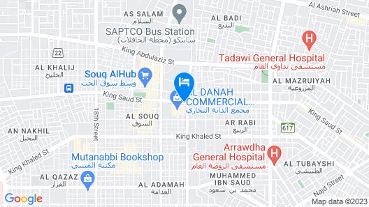 Safari Al Dana Map
