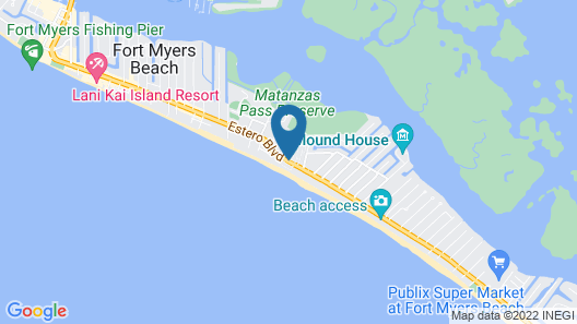 Red Coconut RV Park Map