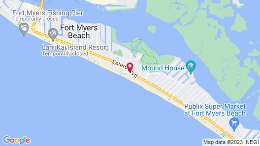 Sandy Beach Map