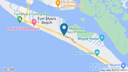 Beach Shell Inn Map