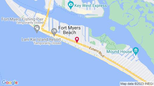 The Neptune Resort Map