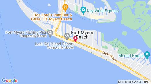 The Sea Gypsy Inn Map