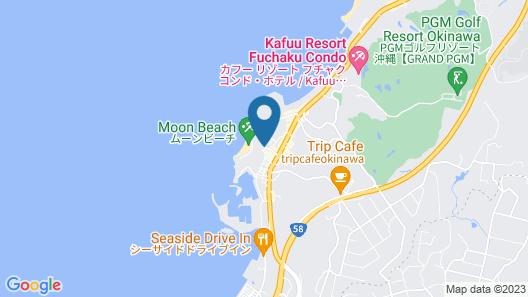 Hotel Moon Beach Map