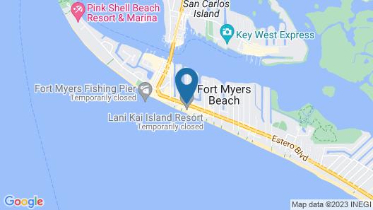 Lani Kai Beachfront Resort Map