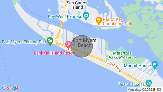 Fort Myers Beach Access Home Map