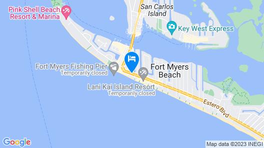 Pierview Hotel & Suites Map