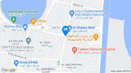 Sheraton Dammam Hotel & Convention Centre Map