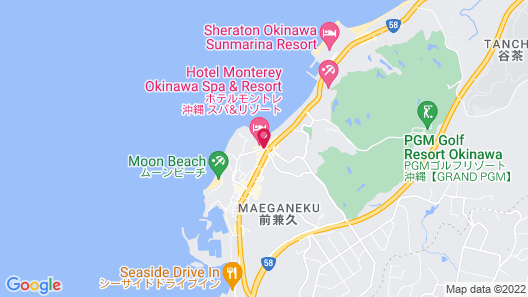 Hotel Monterey Okinawa Spa & Resort Map