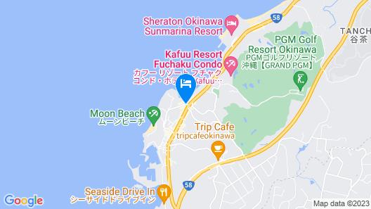 Hotel Monterey Okinawa Spa & Resort Map