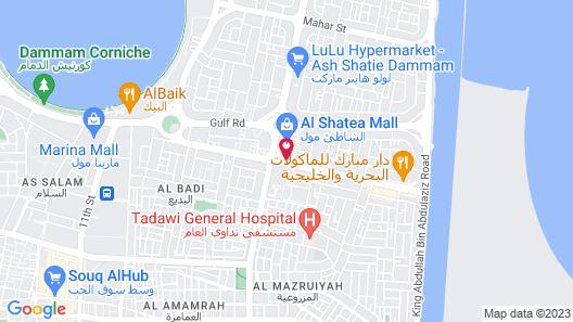 Boudl Al Shatea Map