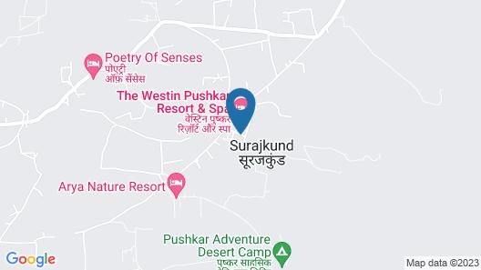 The Westin Pushkar Resort & Spa Map