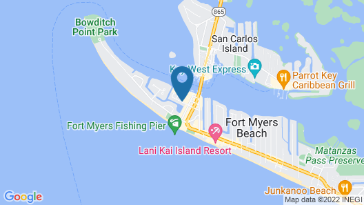 Manatee Bay Inn Map
