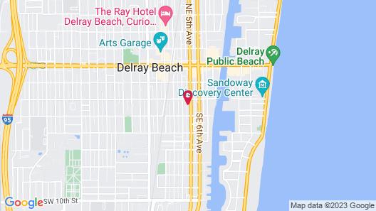 Aloft Delray Beach Map