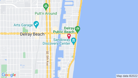 Crane's Beach House Boutique Hotel & Luxury Villas Map