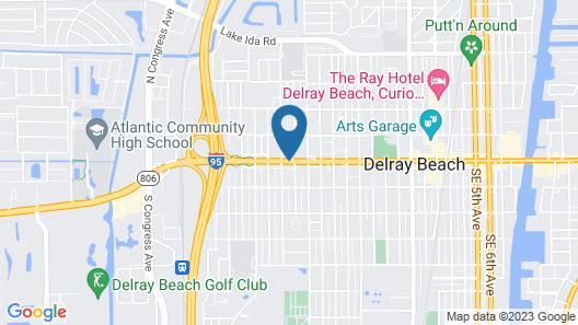 Fairfield Inn & Suites by Marriott Delray Beach I-95 Map