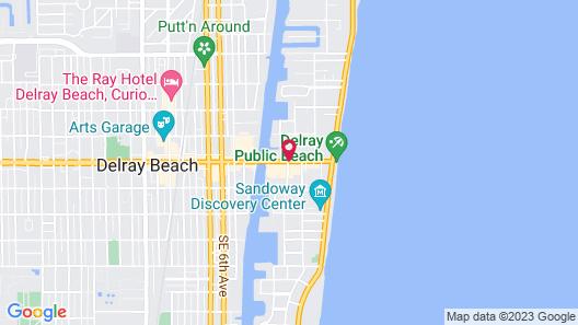 The Seagate Hotel & Spa Map