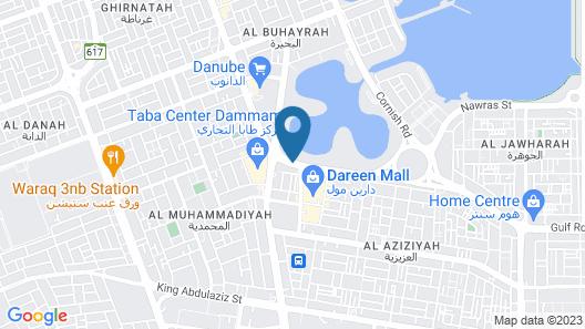 Sofi Hotel Map