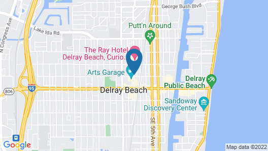 Hyatt Place Delray Beach Map