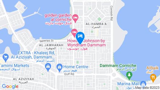 Naviti Warwick Dammam Map
