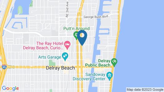 Atlantic Hideaway Map
